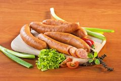 Kielbasa sausages Royalty Free Stock Photography