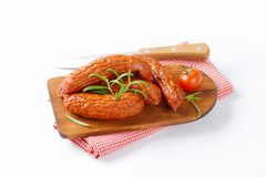 Kielbasa sausages Stock Images