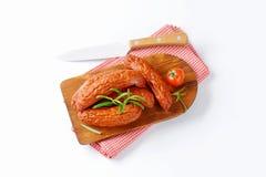 Kielbasa-Würste stockfotos