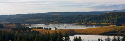 Kielder Water Royalty Free Stock Photography