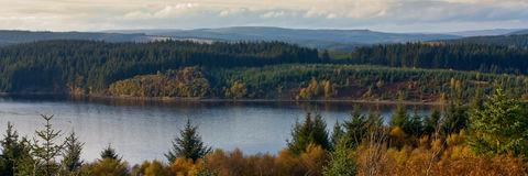 Kielder Water Royalty Free Stock Images