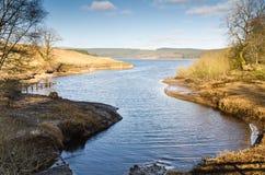 Kielder Water inlet Stock Image