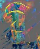 kieliszek abstrakcyjne Zdjęcia Stock