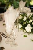 kieliszki szampana Zdjęcie Stock