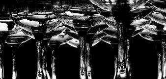 kieliszki wina fotografia royalty free