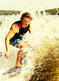Kielzog het Surfen Royalty-vrije Stock Afbeeldingen