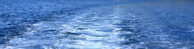 Kielzog van snelheidsboot Royalty-vrije Stock Fotografie