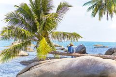Free KIEN GIANG, VIETNAM, May 12th, 2018: Beach On Son Island, Kien Giang, Vietnam. Near Phu Quoc Island. Stock Images - 117101444