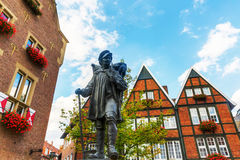 Kiepenkerl statue in Muenster, Germany Stock Image