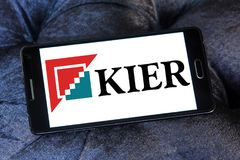 Kier Group logo Royaltyfria Foton
