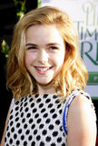 Kiernan Shipka. At the Los Angeles premiere of 'The Odd Life Of Timothy Green' held at the El Capitan Theatre in Hollywood on August 6, 2012 Stock Image