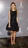 Kiernan Shipka. At the Rodeo Drive Walk Of Style honors Catherine Martin held at the Greystone Mansion in Los Angeles, United States, 280214 Royalty Free Stock Image
