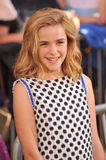 Kiernan Shipka. At the world premiere of 'The Odd Life of Timothy Green' at the El Capitan Theatre, Hollywood. August 7, 2012  Los Angeles, CA Picture: Paul Royalty Free Stock Photography