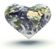 Kierowa planety ziemia Obrazy Royalty Free