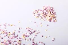 Kierowa postać kolorowi cukierki Obraz Stock