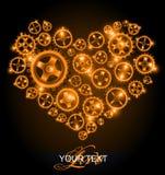 kierowa tło miłość Obraz Royalty Free