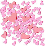 Kierowa valentine abstrakcja Obrazy Royalty Free