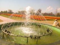 Kierowa wzruszająca fontanna w India Zdjęcia Royalty Free