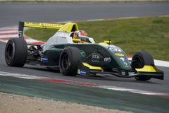 Kierowca Aleksander Peroni Wyzwanie formuła zdjęcie royalty free