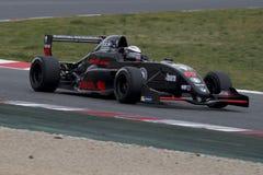 Kierowca Carlesi Sorasio Wyzwanie formuła zdjęcie royalty free