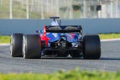 Kierowca Carlos Sainz Drużynowy Toro Rosso Obrazy Stock