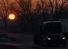 kierowca ciężarówki 1 fotografia stock