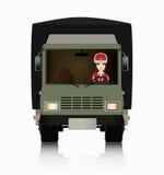 Kierowca ciężarówki Obrazy Stock