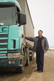 kierowca ciężarówki Zdjęcia Stock