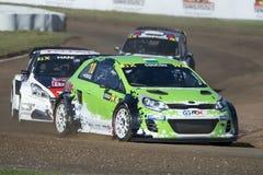 Kierowca CsuCsu Barcelona FIA Rallycross Światowy mistrzostwo Zdjęcia Royalty Free