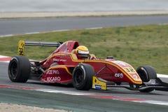 Kierowca Daniel Harout Wyzwanie formuła zdjęcia royalty free