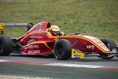 Kierowca Daniel Harout Wyzwanie formuła obrazy royalty free