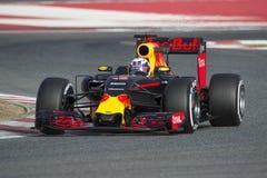 Kierowca Daniel Ricciardo Drużynowy Red Bull Ścigać się zdjęcia stock