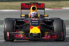 Kierowca Daniel Ricciardo Drużynowy Red Bull Ścigać się obrazy royalty free