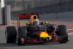 Kierowca Daniel Ricciardo Drużynowy Red Bull Ścigać się obraz stock