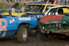 kierowca demolition Derby Obraz Royalty Free