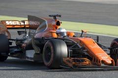 Kierowca Fernando Alonso mclaren drużyny Fotografia Royalty Free