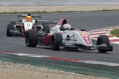 Kierowca Hurni Christophe Wyzwanie formuła zdjęcie royalty free