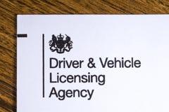 Kierowca i pojazd Koncesjonuje agenci Zdjęcia Royalty Free