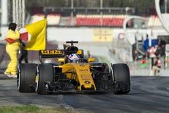 Kierowca Jolyon Palmer Drużynowy Renault Zdjęcia Royalty Free