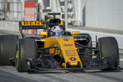 Kierowca Jolyon Palmer Drużynowy Renault Obrazy Stock