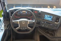 Kierowca kabiny wnętrze Obraz Royalty Free