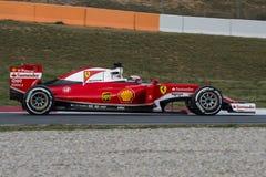 Kierowca Kimi Raikkonen Drużynowy Ferrari F1 Fotografia Royalty Free