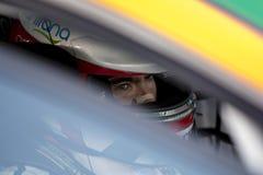 Kierowca Manuel Giao SEAT LEON EUROCUP obraz royalty free