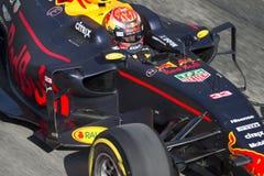 Kierowca Max Verstappen Drużynowy Red Bull Zdjęcia Stock