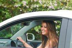 kierowca nastoletni zdjęcie royalty free
