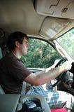 kierowca nastoletni Obrazy Royalty Free