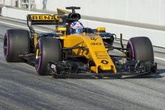 Kierowca Palmer Drużynowy Renault Zdjęcie Royalty Free