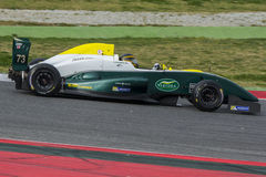 Kierowca PECCENINI Pietro Drużynowi TS Corse obraz royalty free
