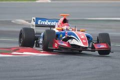 Kierowca Pietro Fittipaldi Formuła V8 3 5 zdjęcia stock