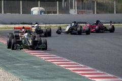 Kierowca Pietro Peccenini TS Corse drużyna obrazy royalty free